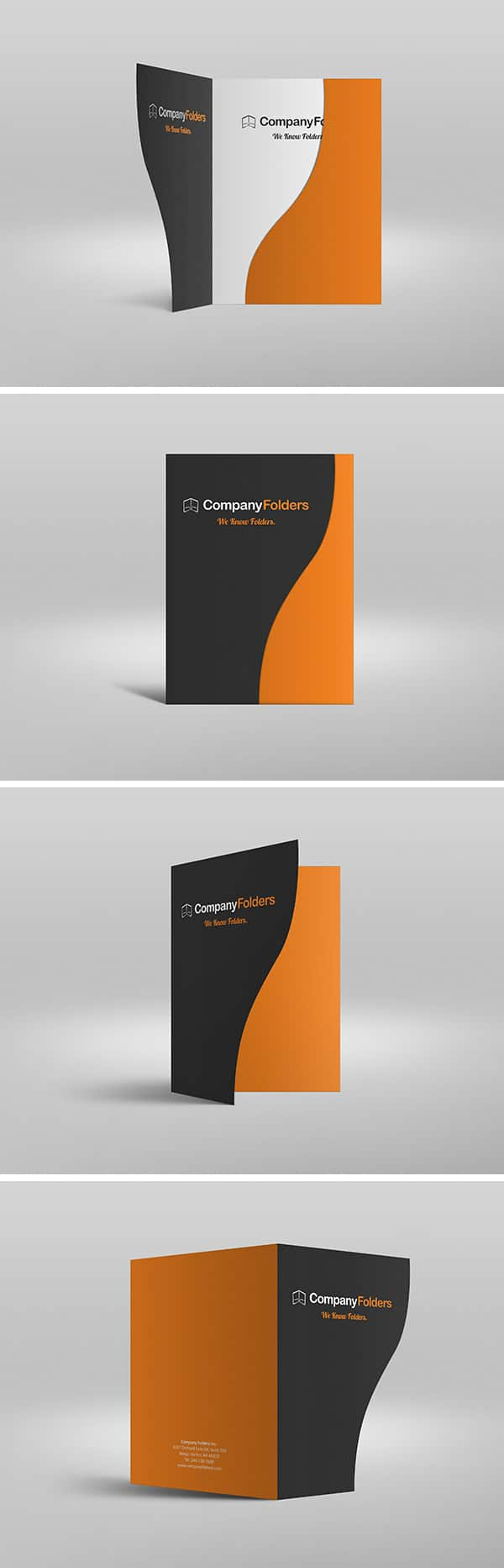 Serpentine Presentation Folder