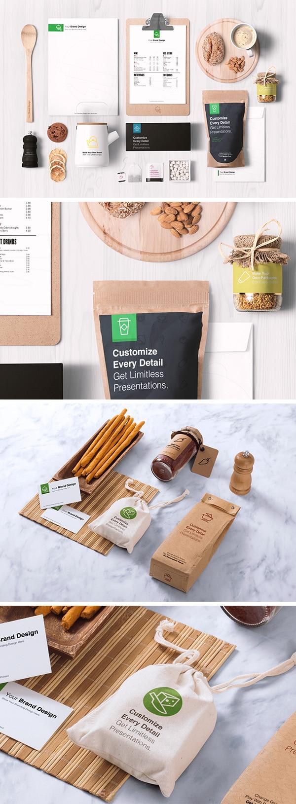 Food Packaging Plus Branding
