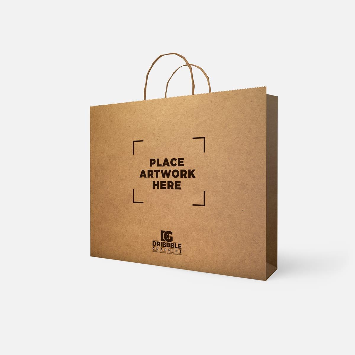 PAperbag PSD Mockup Design