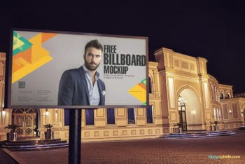 Billboard PSD Mockup to Meet Your Outdoor Advertising Needs
