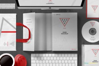 Minimalist Book Cover Mockup Freebie