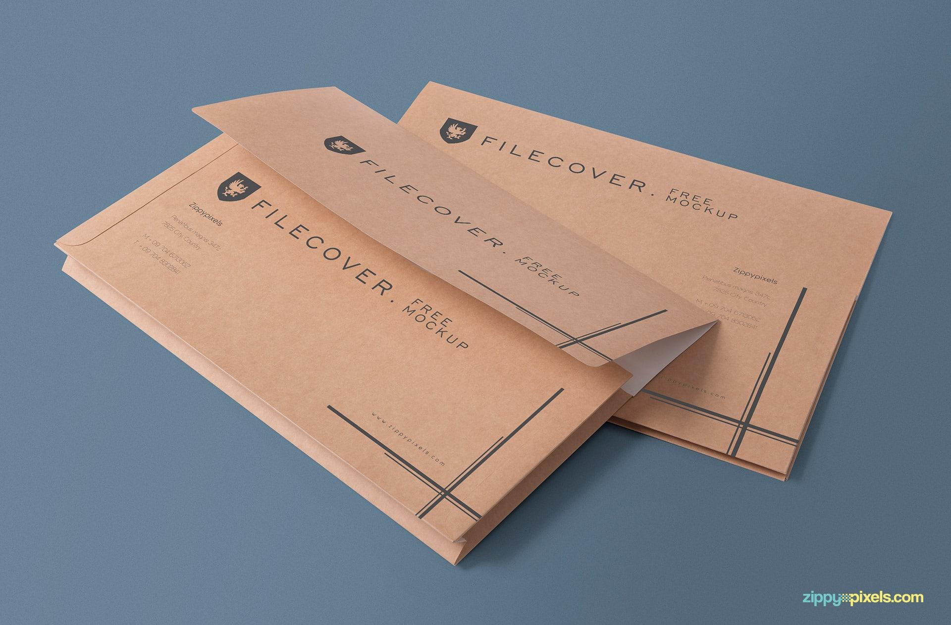 Elegant Pocket Folder