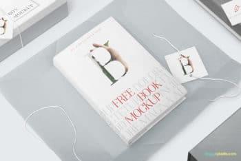 Sober Designed Paperback PSD Mockup