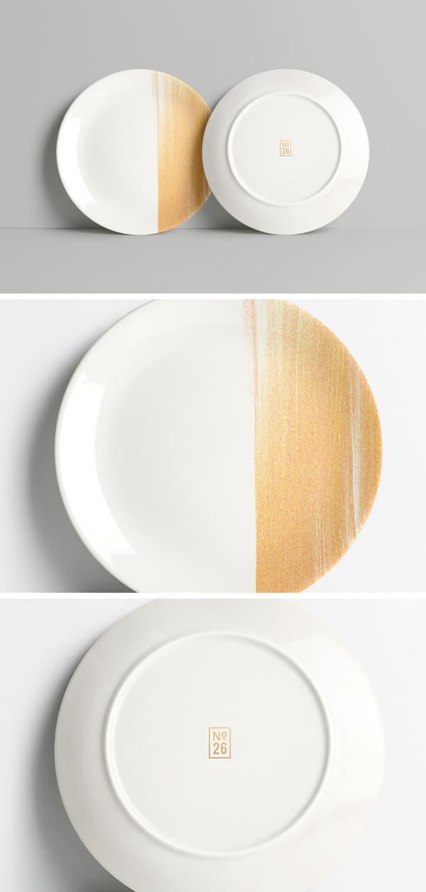 Customizable Plate Mockup