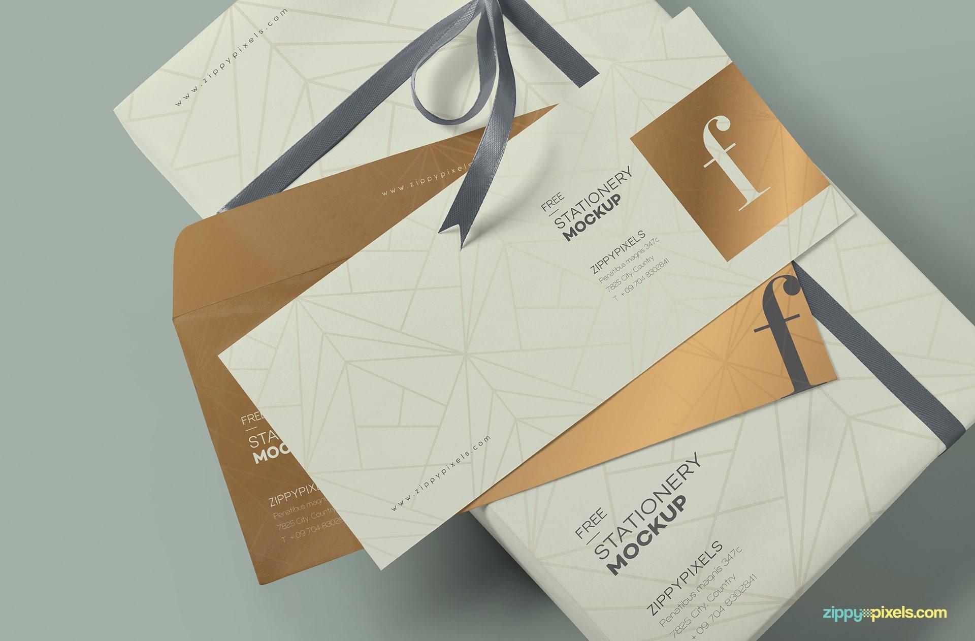 Luxurious Envelope Mockup