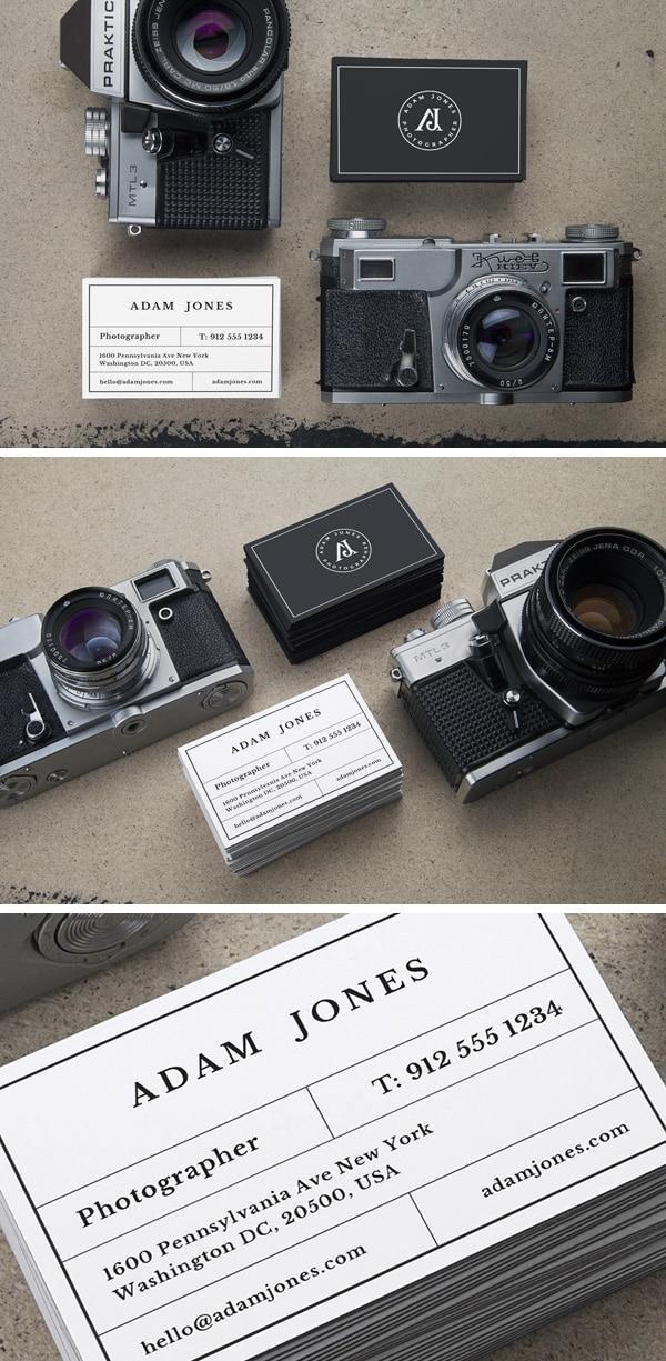 Vintage Cameras Mockup