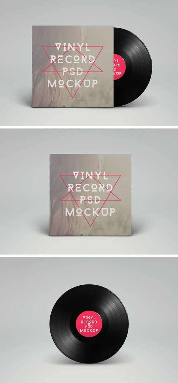 Vinyl Record Plus Case