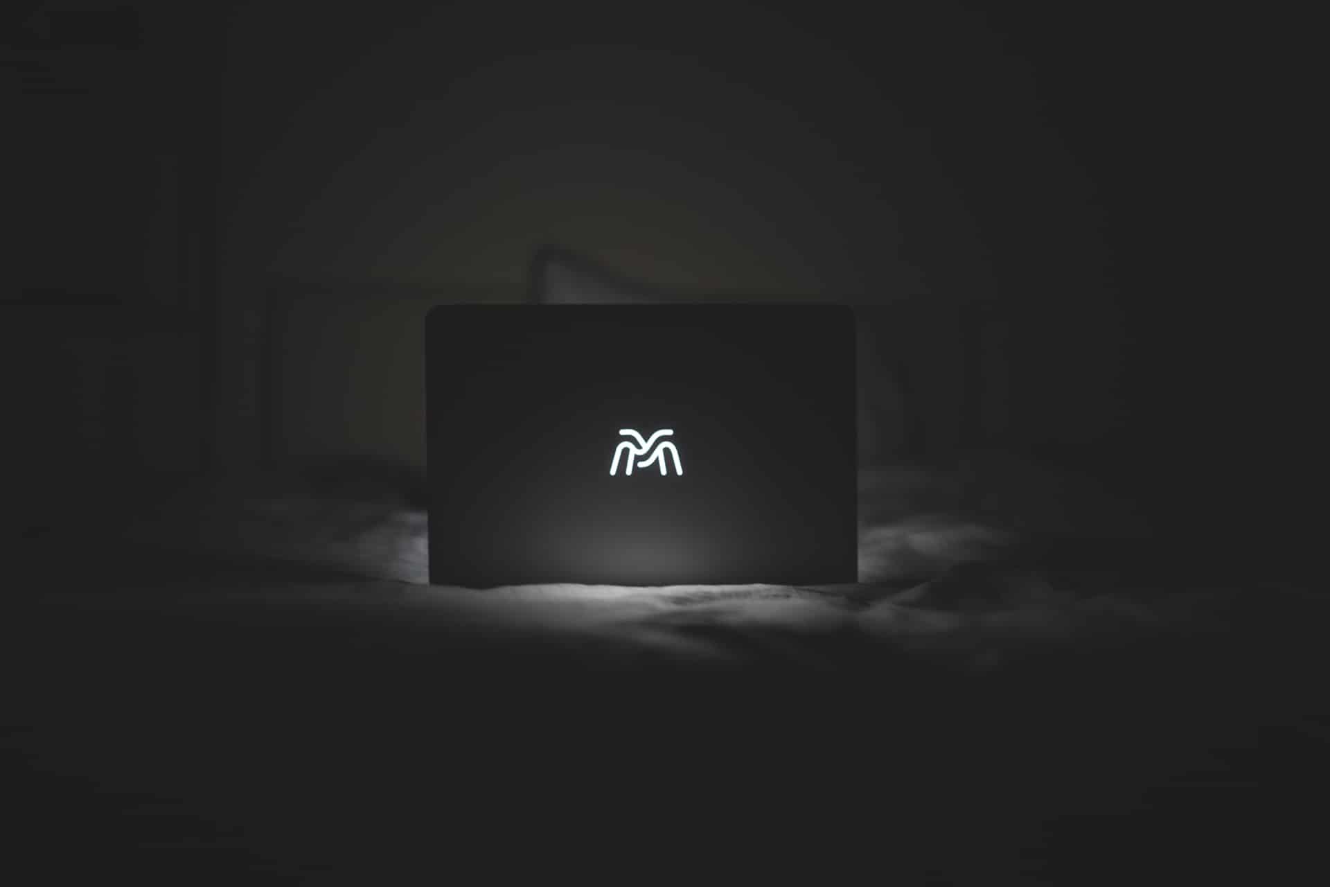 MacBook Logo Mockup