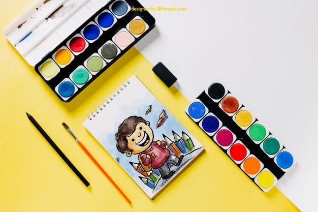 Children Watercolor Set