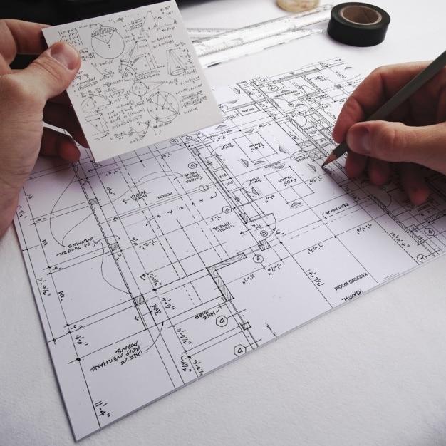 Complex Floorplan Mockup
