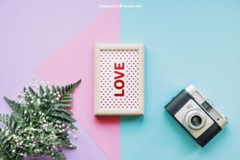 Free Plant Photography Mockup in PSD