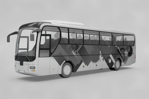 Customizable Bus Mockup