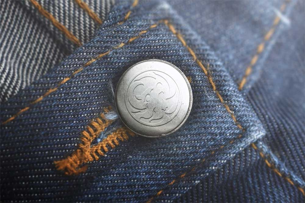 button jeans mockup