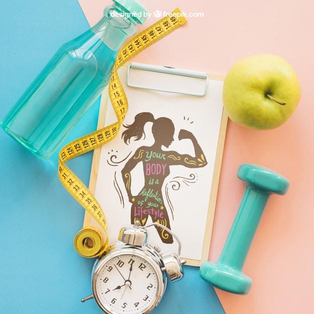 Fitness Lifestyle Mockup