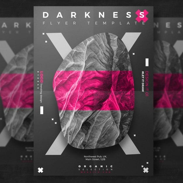 Dark Event Flyer