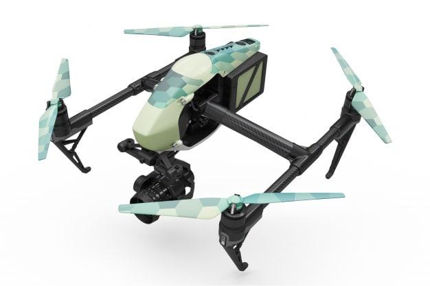 Amazing Drone Mockup