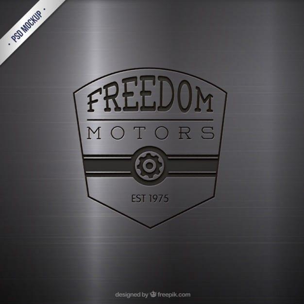 Engraved Motor Logo