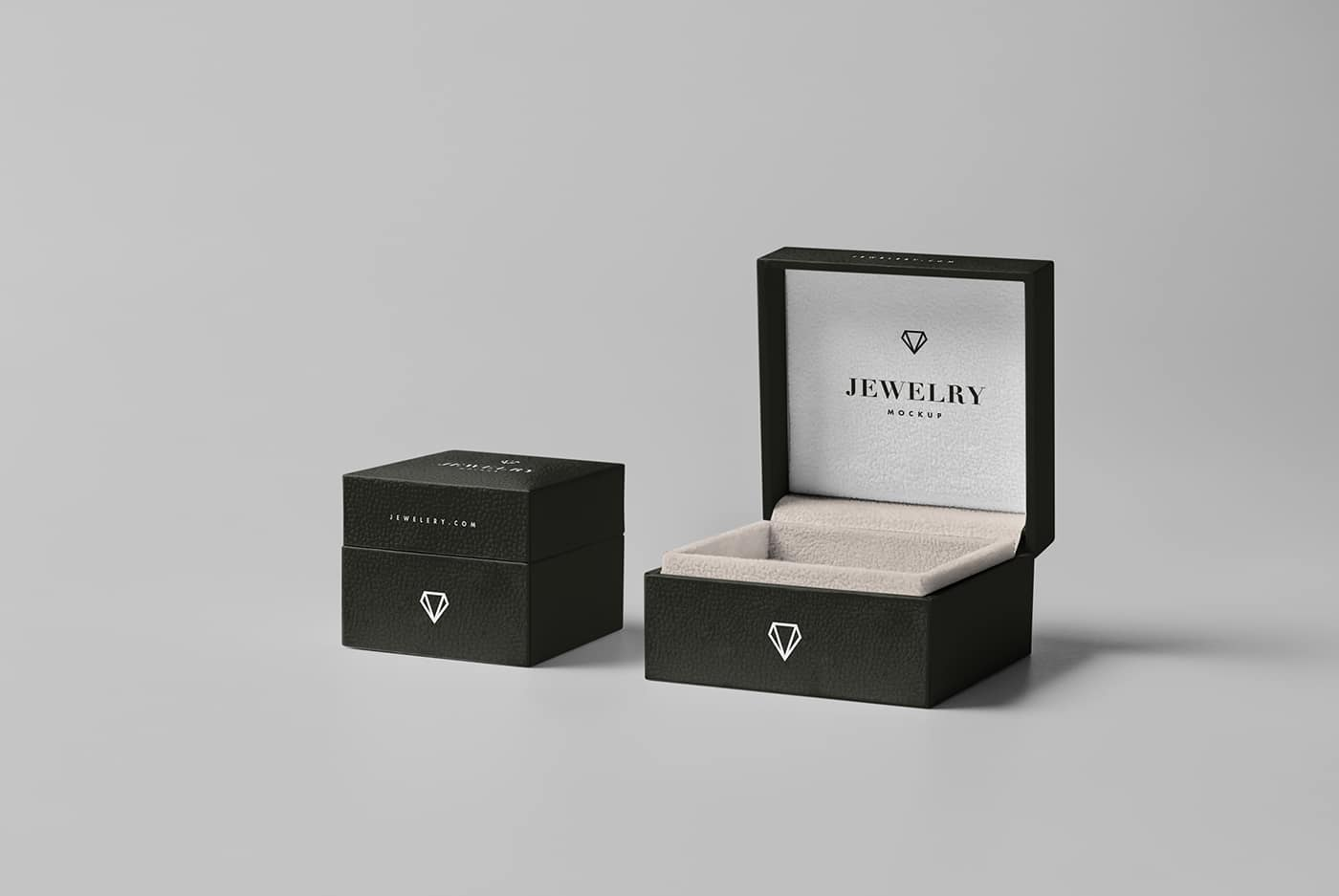 Jewelry Package Mockup