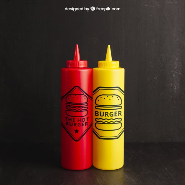 Ketchup Plus Mustard