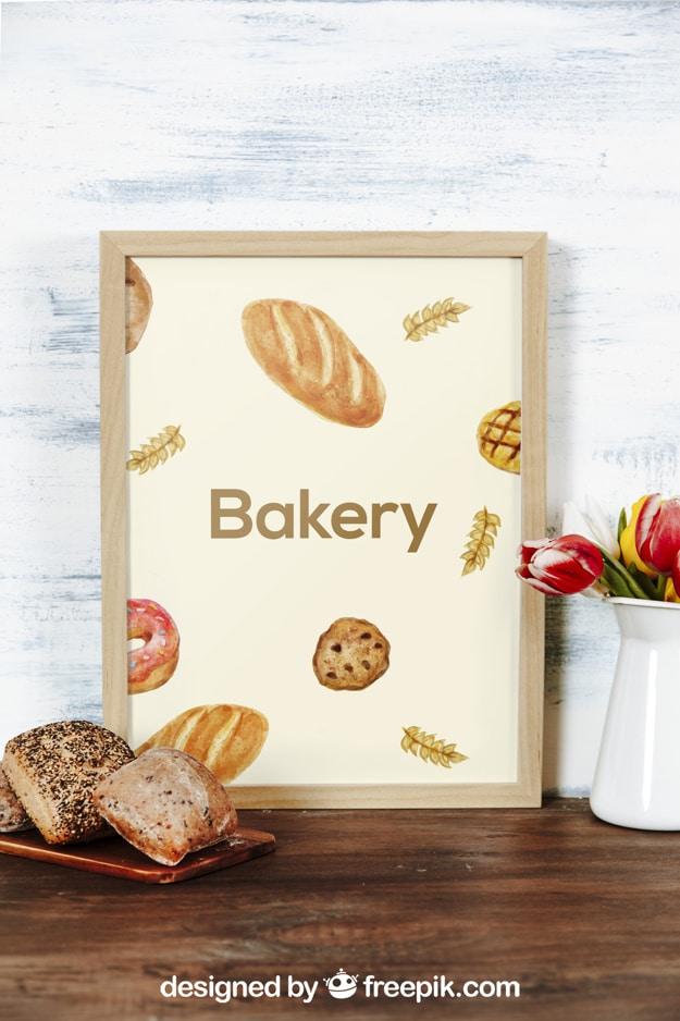 Bakery Frame Plus Bread