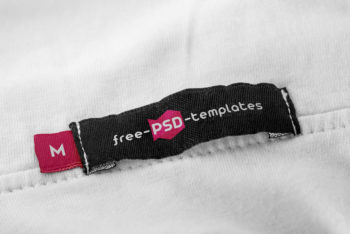 Free Apparel Tag Mockup For Excellent Tag Design Presentation
