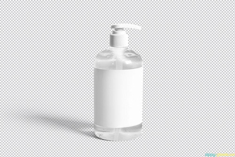 free bottle dispenser mockup