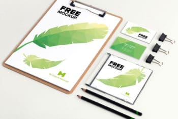 Free Branding Identity Mockup in PSD