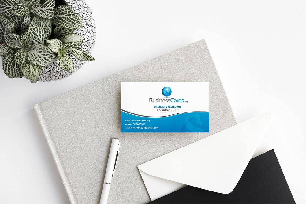 free business card psd mockup