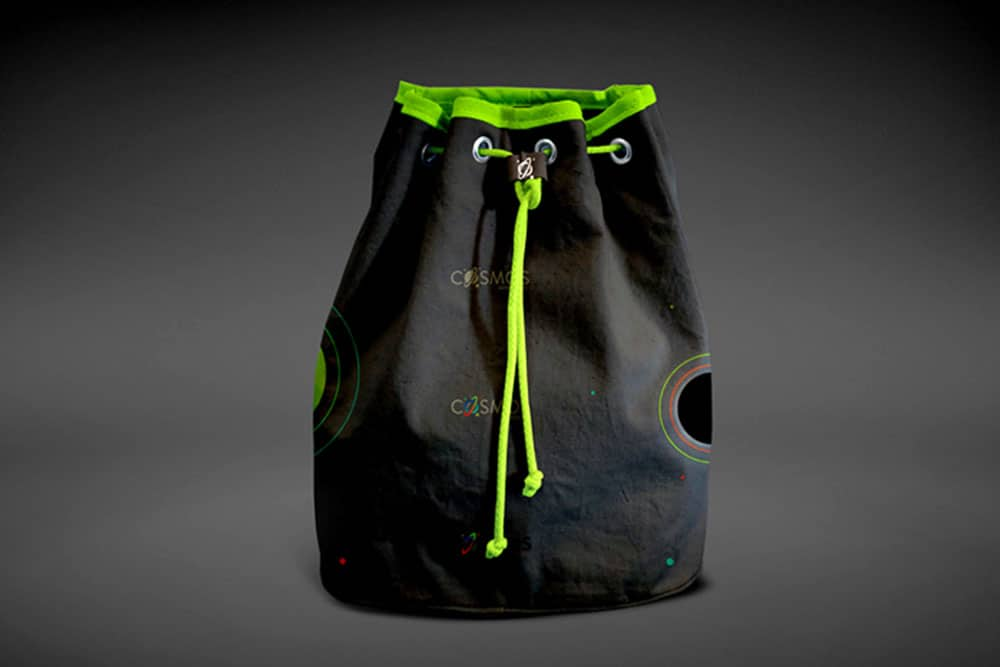 free drawstring bag mockup