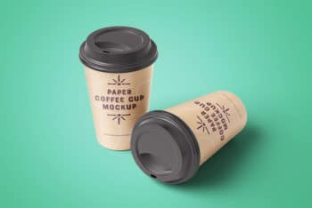Remarkable and Free Coffee Cup Mockup