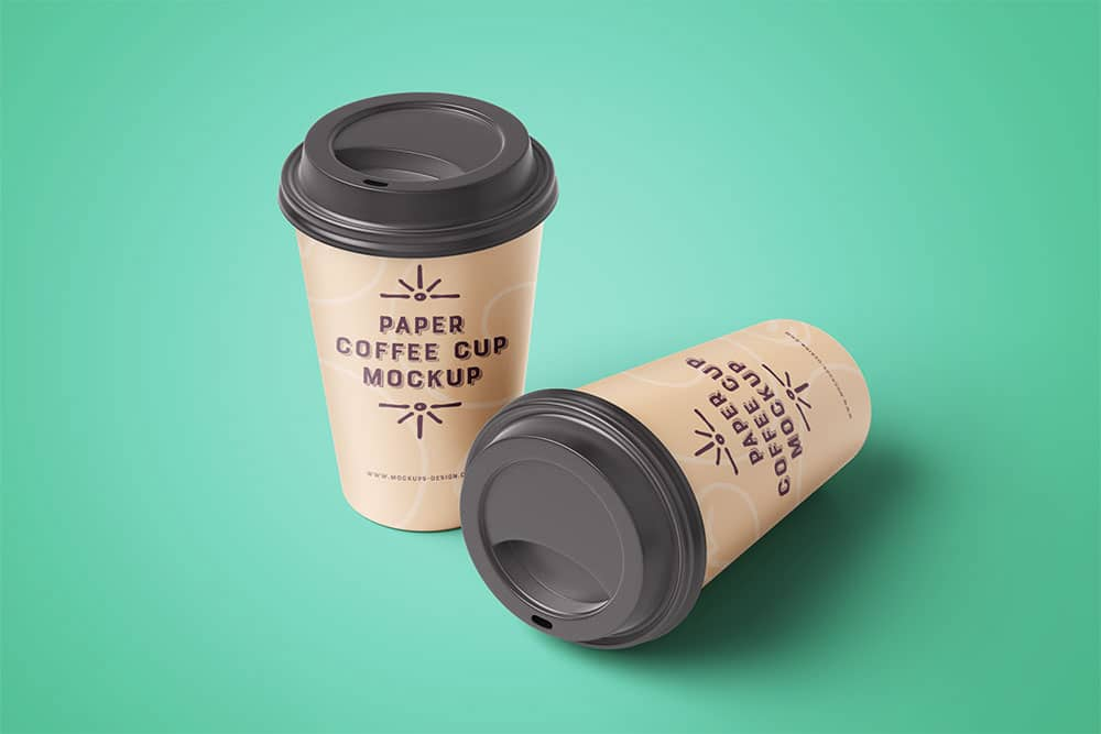 Download This Free Coffee Cup Mockup in PSD - Designhooks