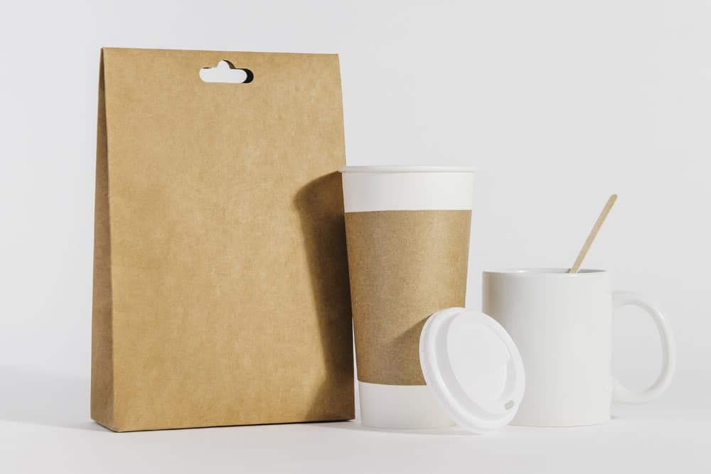free coffee mockup