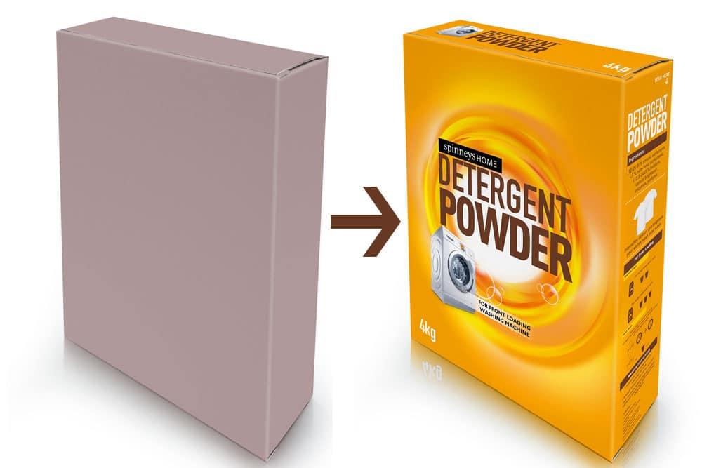 free detergent mockup