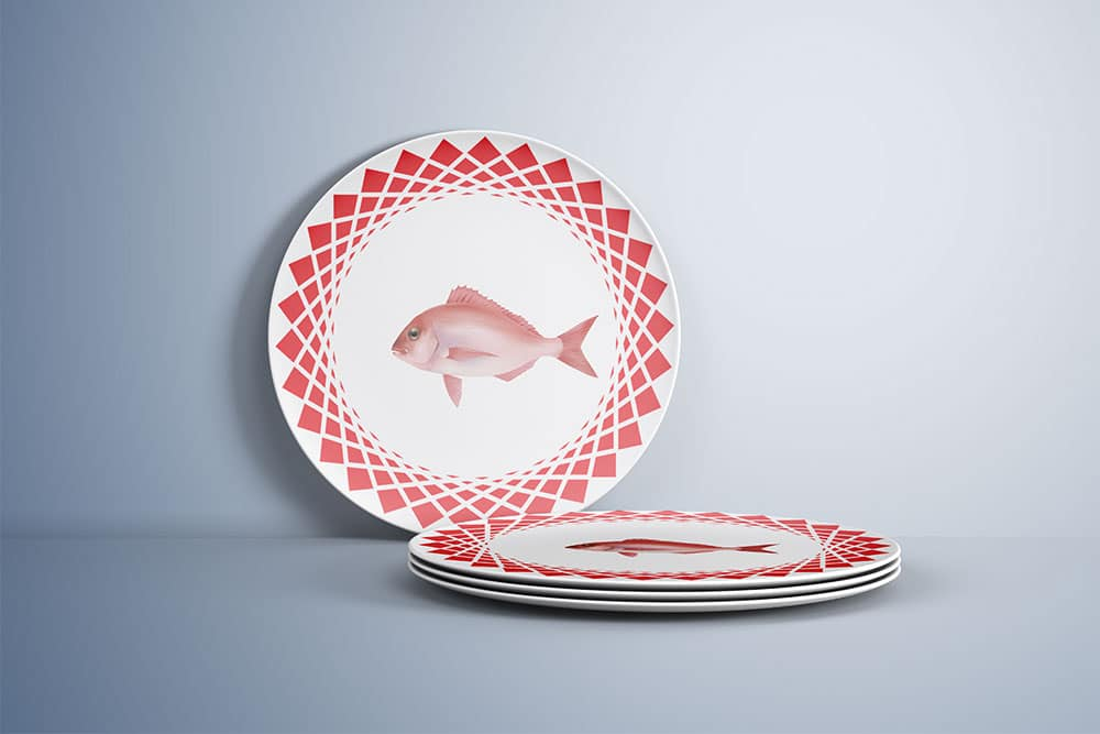 free download plate mockup