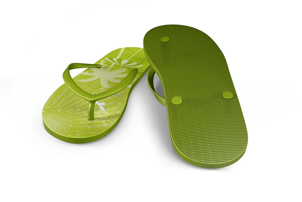 free flip flops mockup
