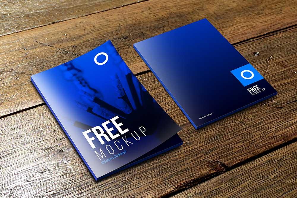 free folder mockup