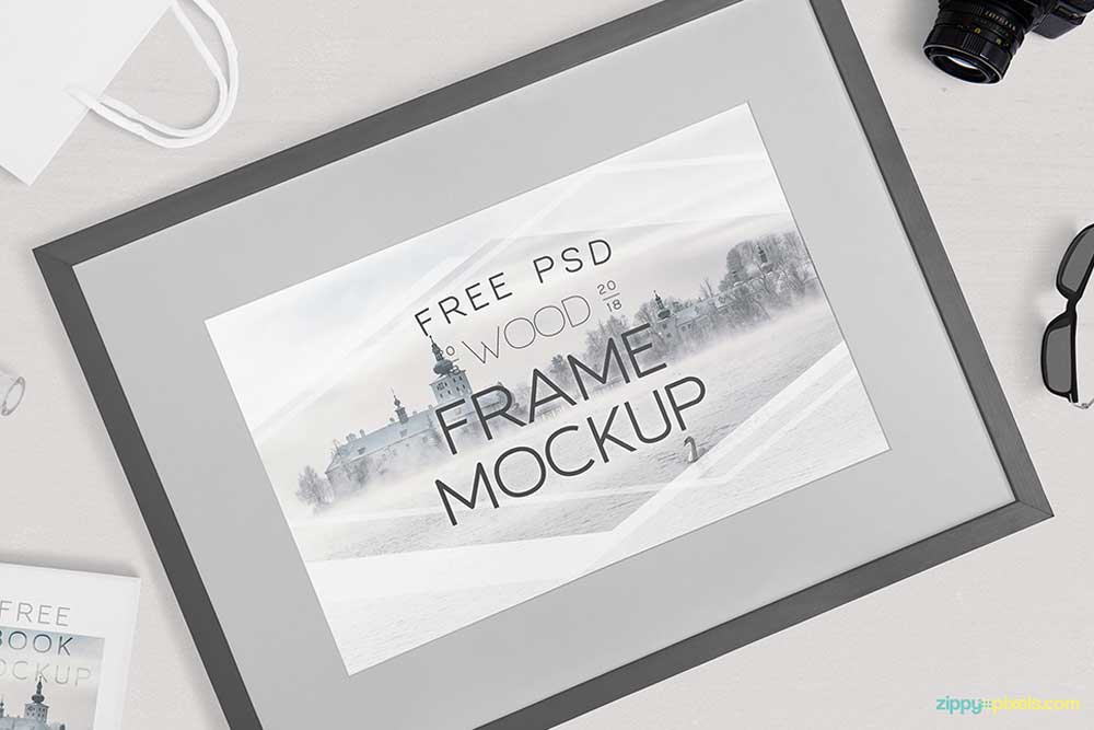 Download This Free Frame Mockup In Psd Designhooks