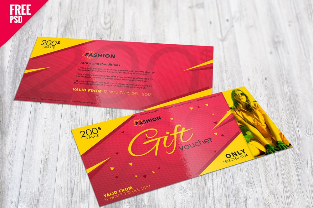 download this free gift certificate mockup in psd designhooks