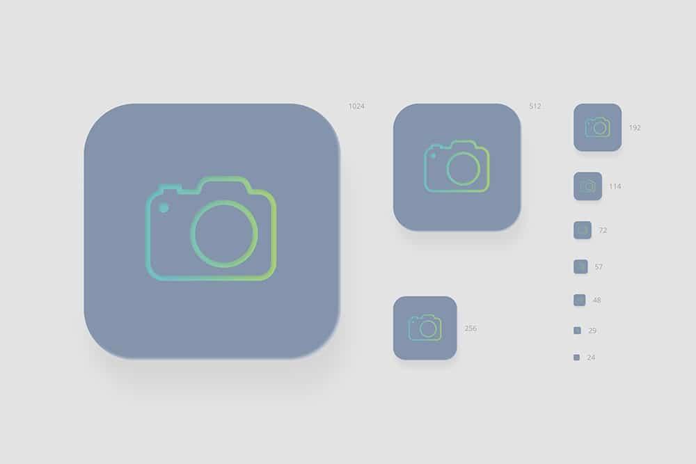 free icon mockup