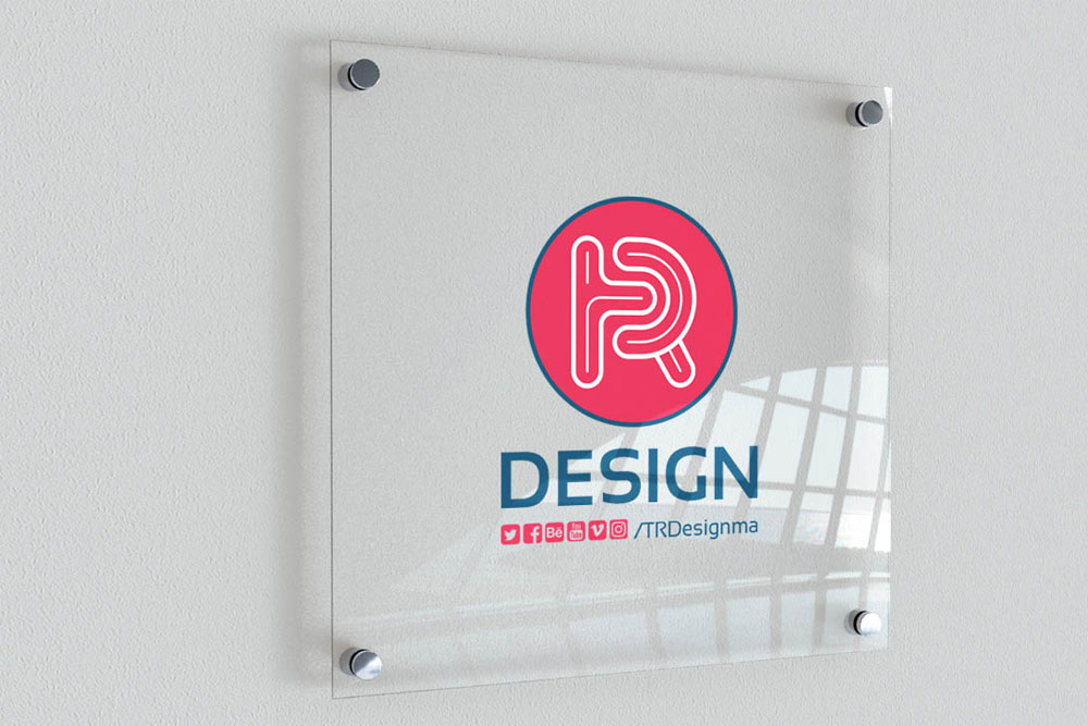 free indoor signage mockup