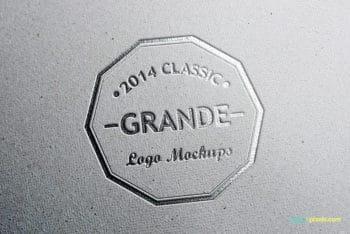 Free 7 Photorealistic Logo Mockups