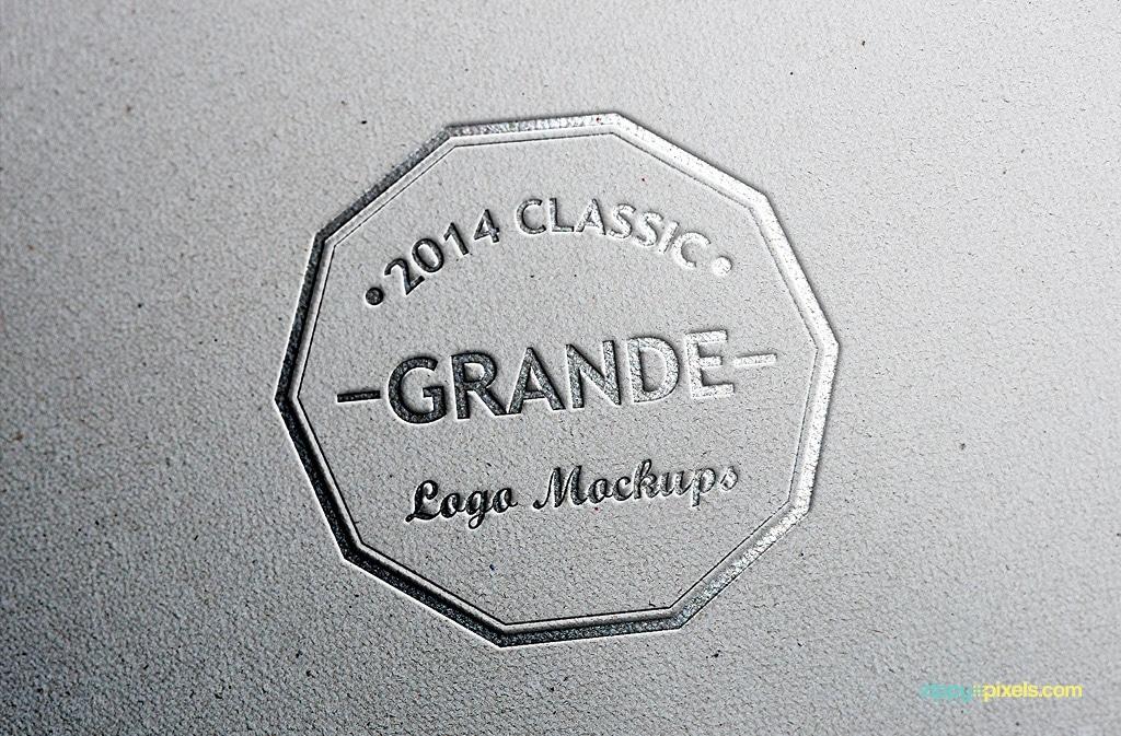 logo mockup free
