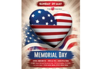 Free Memorial Day Flyer