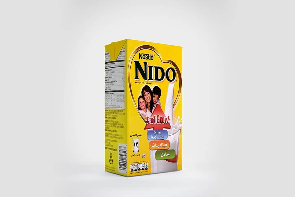 free milk box packaging mockup