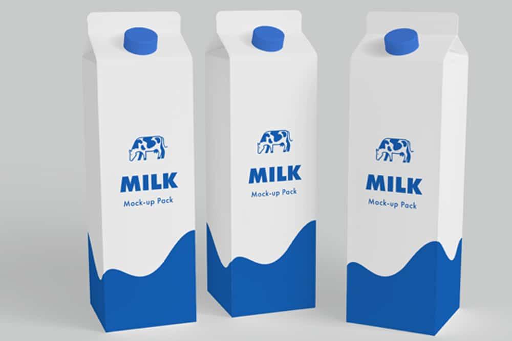 Download This Free Milk Carton PSD Mockup - Designhooks