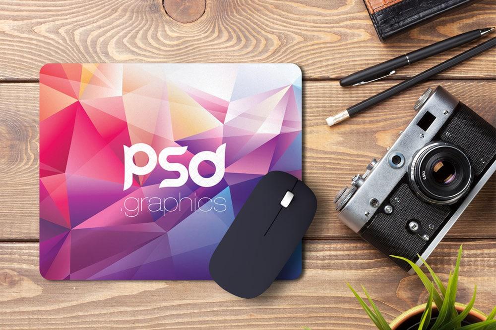 free mouse pad psd mockup