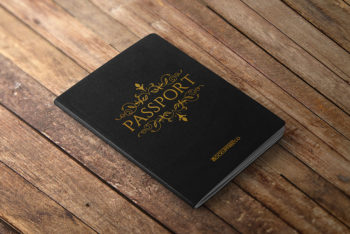Free Passport Mockup in PSD