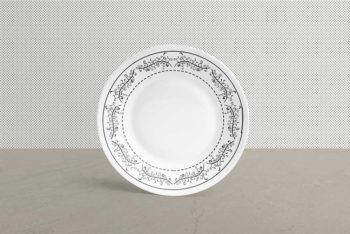 Free Ceramic Plate Mockup in PSD