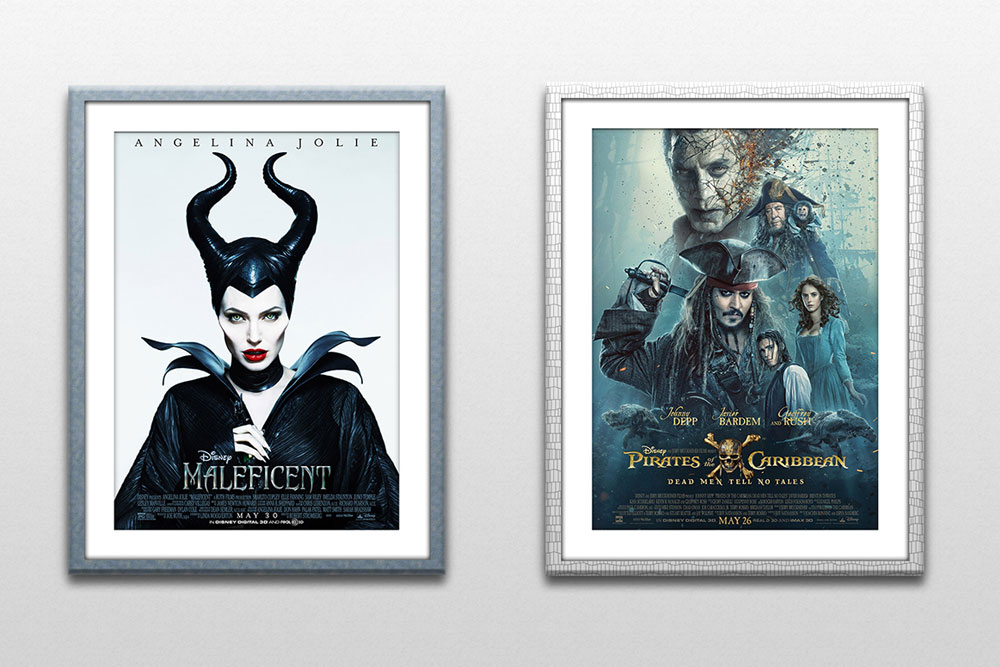 free poster and frame mockup