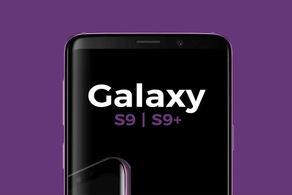 free samsung galaxy s9 and s9 plus mockup